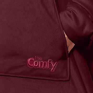 THE COMFY: La Coperta Originale indossabile Uomini Morbida Accogliente Adulti Calda Adolescenti Donne Taglia Unica di Diversi Colori