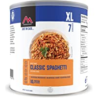 Mountain House Spaghetti with Meat Sauce XL | Freeze Dried Survival & Emergency Food | #10 Can