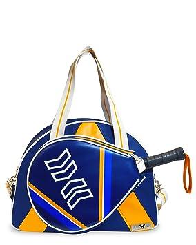 Idawen Bolsa Padel Mujer | Retro-Disegno BLU-tasca Especial para la Raqueta Padel | Materiales de Alta Calidad | Edición Limitada: Amazon.es: Deportes y ...
