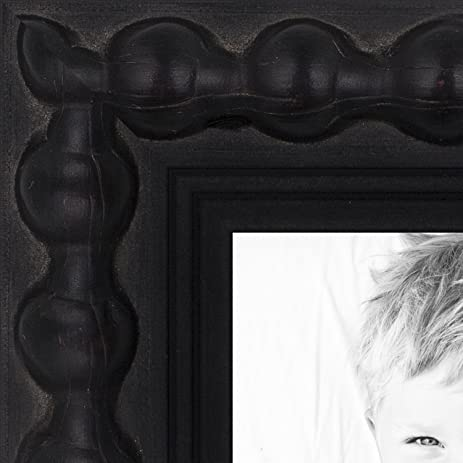 Amazon Arttoframes 16x30 Inch Aria Black Wood Picture Frame