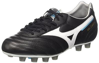 Morelia Classic MD, Zapatillas de Running para Hombre, Multicolor (Blackwhiteblueatoll), 41 EU Mizuno