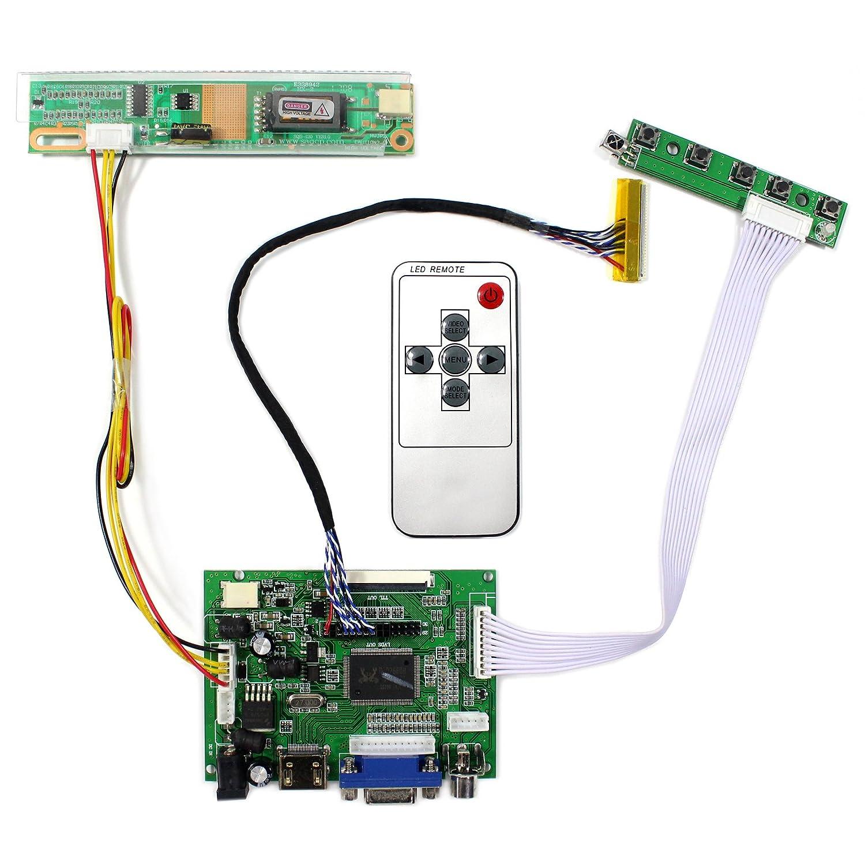 VGA LCD Controller Board for B154EW02 B154EW04 B154EW03 B154EW01 US Seller