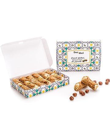 12 Cannoli sicilianos - Duci duci - Pastelería casera, cannoli siciliano relleno de crema de