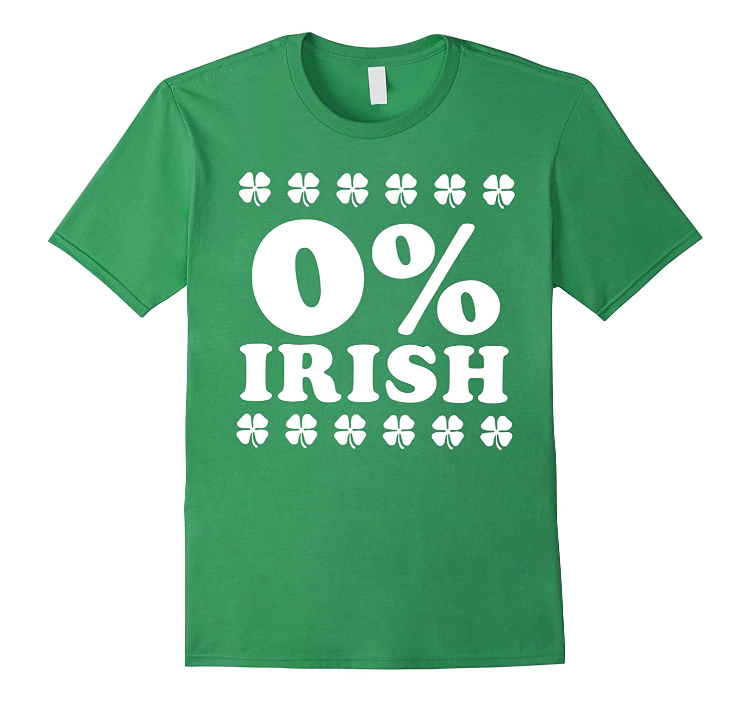 0 Irish Lucky Shamrock St Saint Patrick Day Shirt-TD