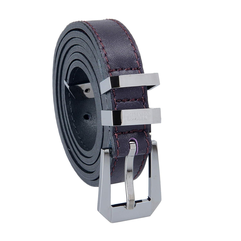 Versace Collection 100% Leather Purple Women's Belt US 95 IT 110