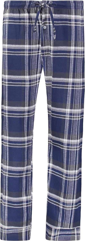Bill Baileys Mens 100% Cotton Flannel Pajama Pants Lounge Pants Sleep Pants Bottoms Sleepwear