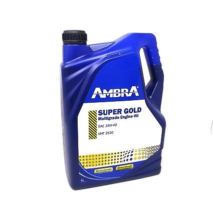 Aceite Motor Super Gold 15 W-40 5lt ámbar Petronas Tractores y ...