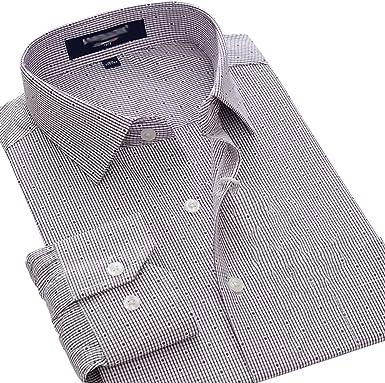 Camisa, Camisa de Herramientas de Manga Larga Suelta para Hombre Vestido Formal Banquete Camisa de Boda Botón sólido Abajo: Amazon.es: Ropa y accesorios