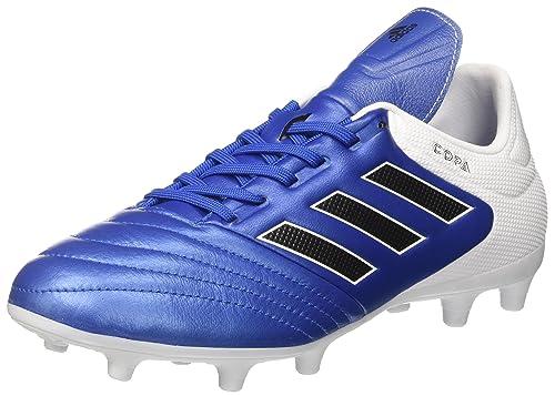 Adidas Copa 17.3 FG, Botas de Fútbol para Hombre, Varios Colores (Negbas/Ftwbla/Negbas), 48 2/3 EU