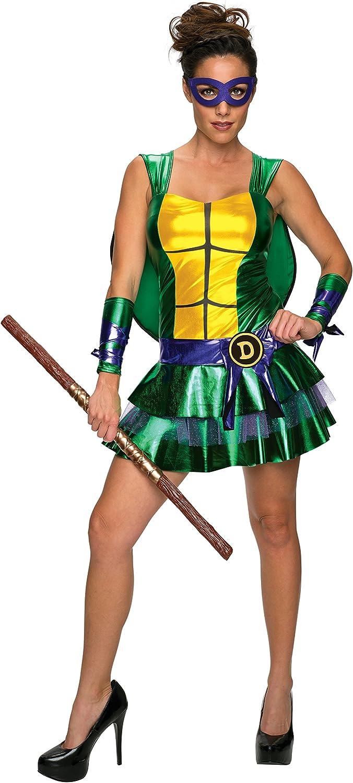 Disfraz de Leonardo Las Tortugas Ninja sexy para mujer: Amazon.es ...