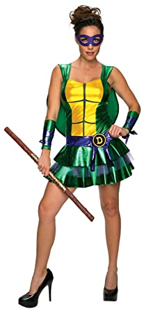 Secret Wishes Womenu0027s Teenage Mutant Ninja Turtles Donatello Costume Dress Multi X-Small  sc 1 st  Amazon.com & Amazon.com: Secret Wishes Womenu0027s Teenage Mutant Ninja Turtles ...