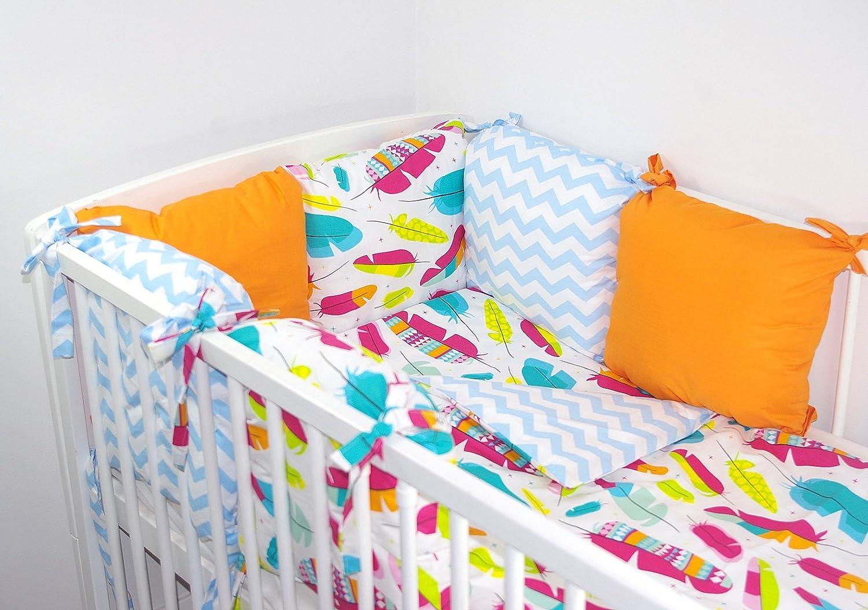 Babys Comfort Cushion bumper made of 6 pillows 10 b