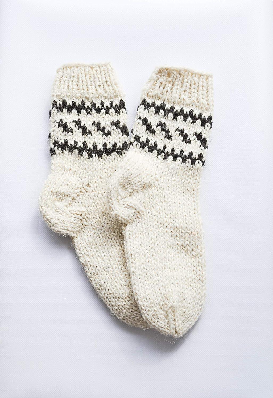 7afa4bd461635 Amazon.com: Hiking socks Wool socks men Handmade Christmas gift for him  Winter socks Knitted socks unisex Boot socks men Fishing socks M 7-9.5 EU  40-44: ...
