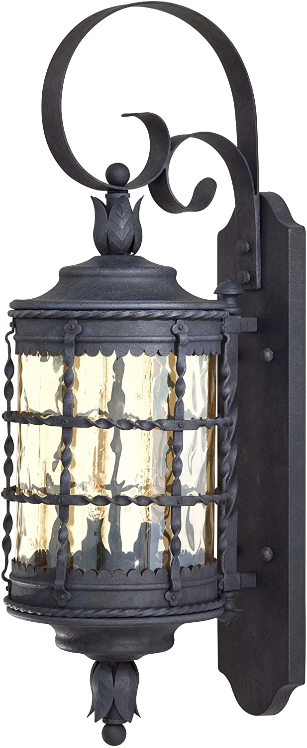 Minka Lavery Outdoor 8881 A39, Mallorca Outdoor Wall Sconce Lighting, 120  Total Watts, Iron   Wall Porch Lights   Amazon.com