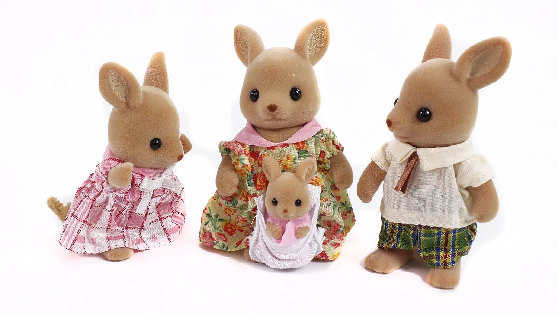 amazon com calico critters hopper kangaroo family toys u0026 games