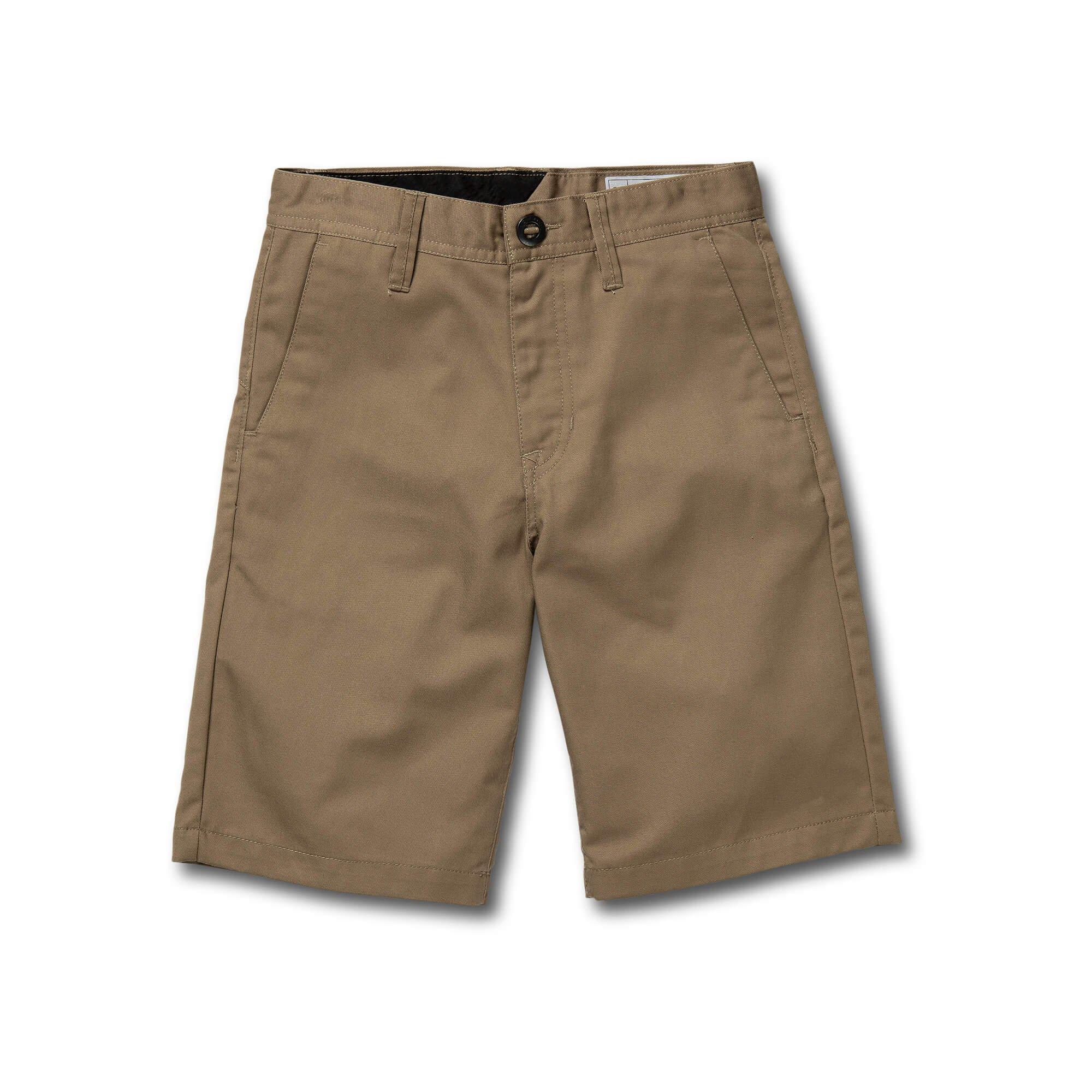 Volcom Big Boys Frickin Chino Short, Khaki, 29