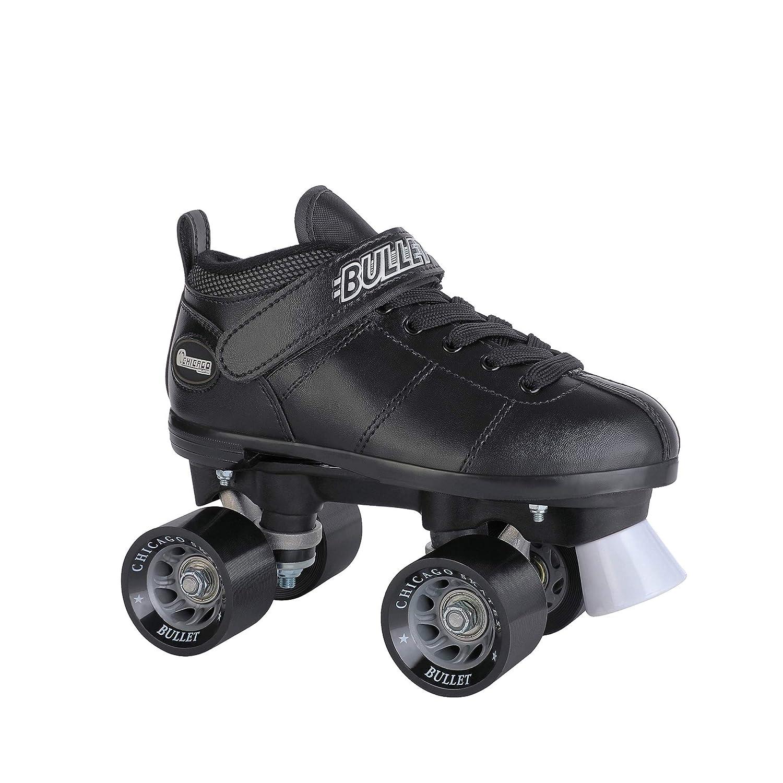 Chicago Bullet Mens Speed Roller Skate Black