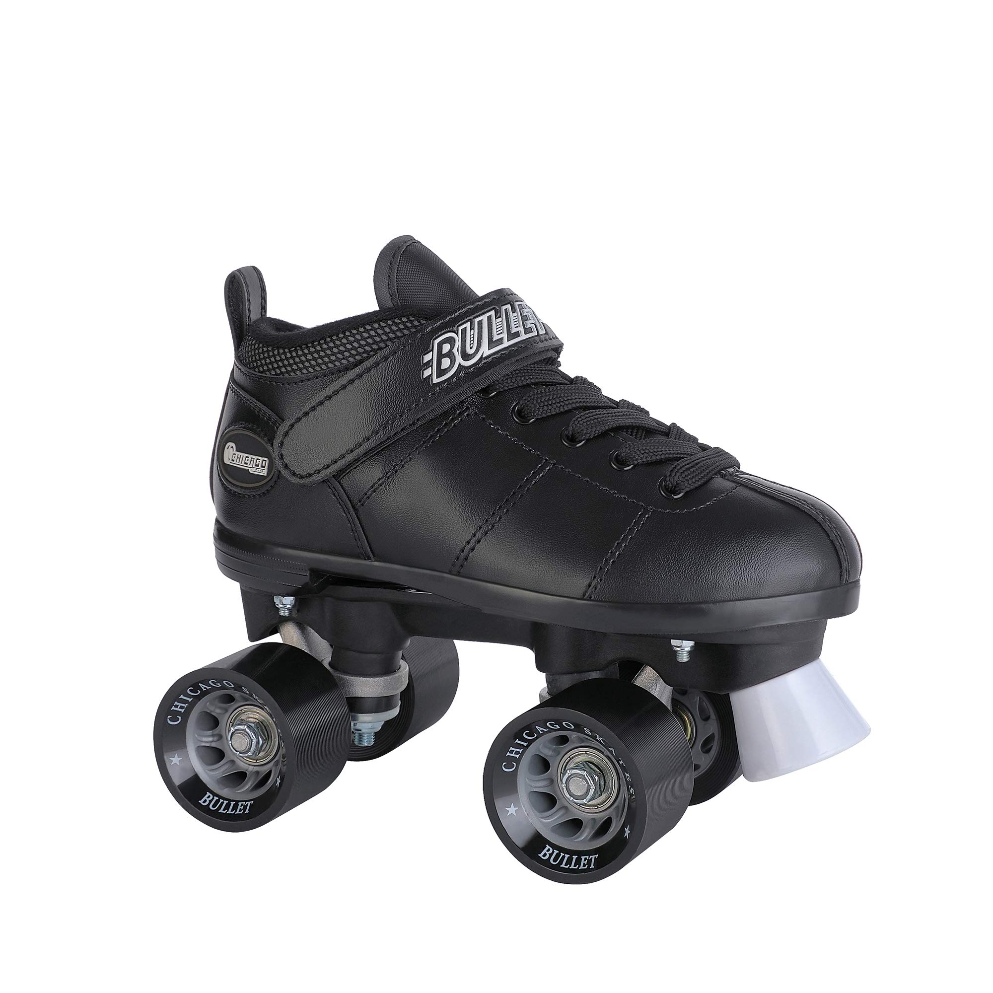 Chicago Bullet Men's Speed Roller Skate -Black Size 4 by Chicago Skates (Image #2)