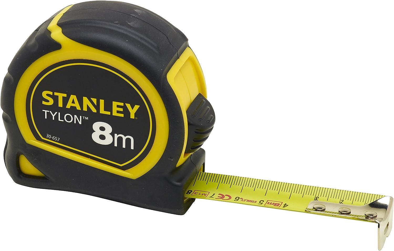 Stanley 1-30-657 Mesure 8 m x 25 mm bi-matière Tylon.