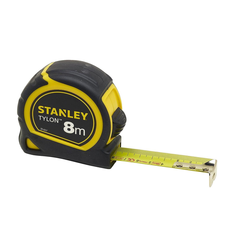 Stanley Cinta métrica Tylon, 8 m, 0-30-657: Amazon.es: Bricolaje y herramientas