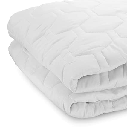 Amazon.com: THE GRAND Mattress Pad Cover Fitted Quilted