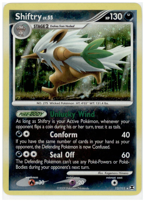 Amazon.com: Pokemon - Shiftry (13) - Rising Rivals - Holo ...
