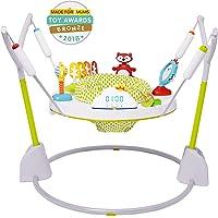 Skip Hop Explore & More Jumpcape Saltador plegable para bebés con contador de rebotes, multicolor