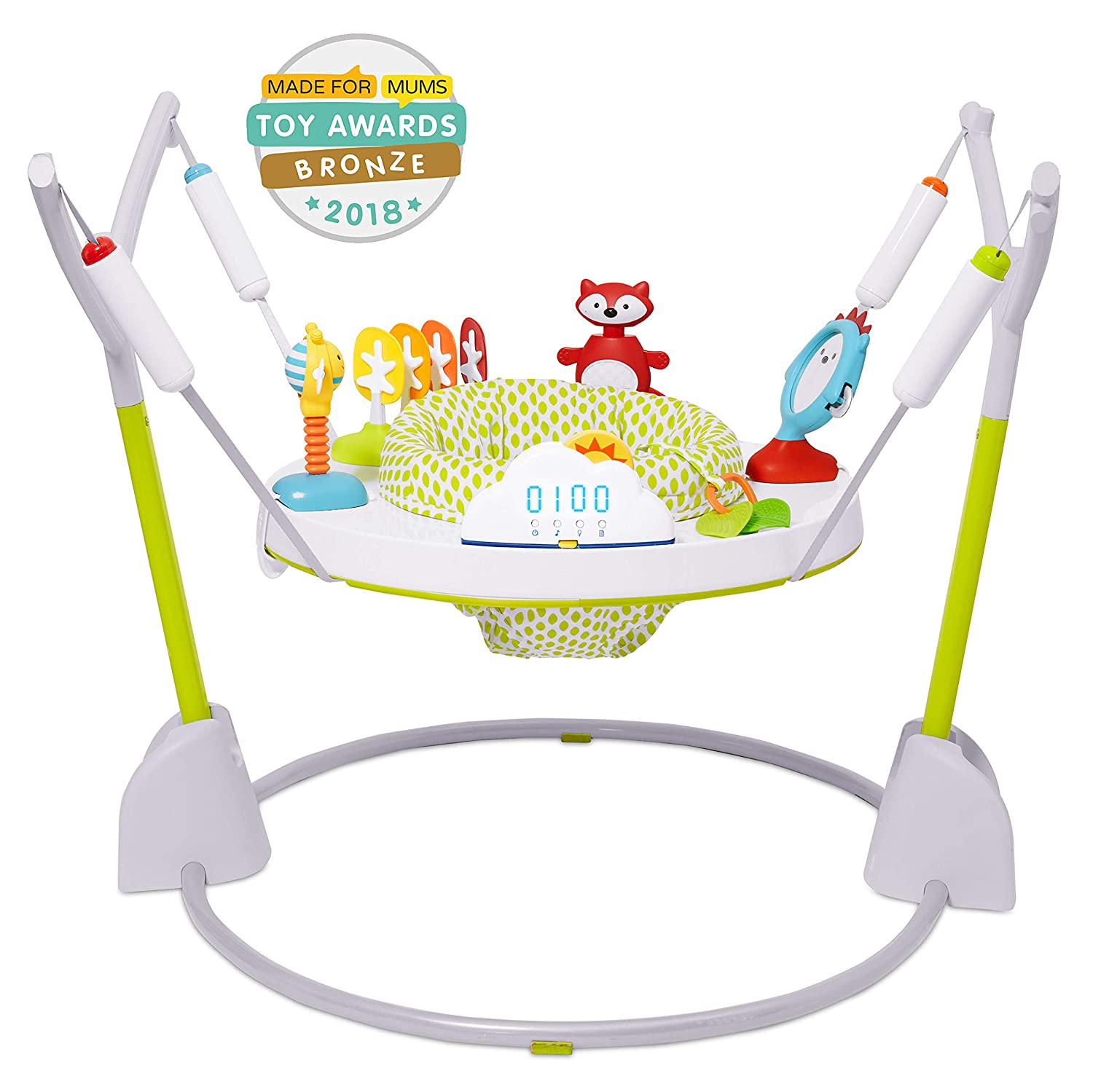 8ec9d4df037a Amazon.com   Skip Hop Explore   More Jumpscape Fold-Away Baby Jumper ...