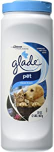 Glade Carpet and Room Refresher, Deodorizer for Home, Pets, and Smoke, Pet Clean Scent, 32 Oz, Pack of 1