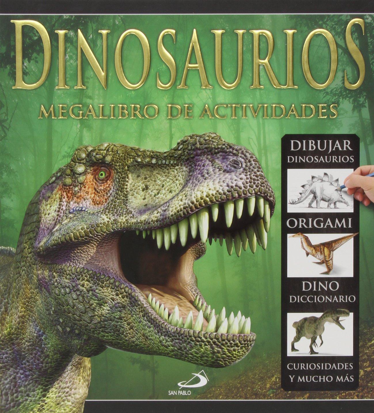 Dinosaurios: Megalibro de actividades (Actividades y destrezas) (Español) Tapa dura – 25