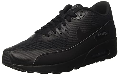 Nike Men's Air Max 90 Ultra 2.0 Essential, BLACK/BLACK/BLACK, 15