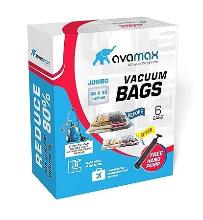 Avamax - Bolsas de Almacenamiento al vacío con Bomba de ...