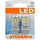 SYLVANIA 4114 White LED Bulb, (Contains 2 Bulbs)