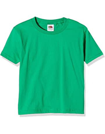 Boys' Clothing (2-16 Years) Animal Green T-shirt With Black Short Sleeve Age 13-14 Years Kids' Clothes, Shoes & Accs.