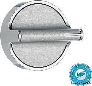 Lifetime Appliance Knob Compatible with Whirlpool Stove/Range - W10594481, W10818230, OR W10828837 (W10818230)
