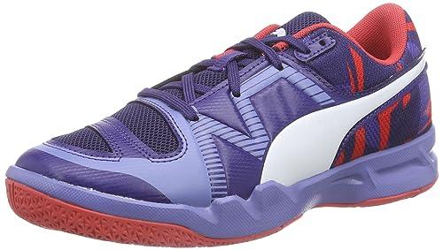 3d2726486 Puma evoIMPACT 5 Jr - Zapatillas Deportivas para Interior de Material  sintético Niños^Niñas, Color Azul, Talla 32: Amazon.es: Zapatos y  complementos