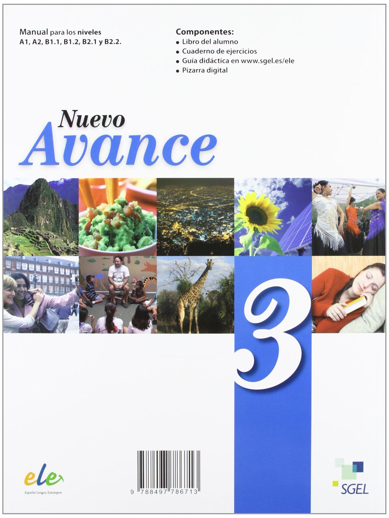 Nuevo Avance 3 Exercises Book + CD B1.1 (Spanish Edition ...