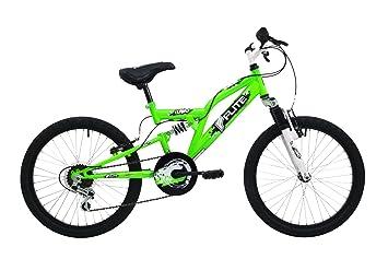 Flite Turbo Kids' Mountain Bike White/Green, 12