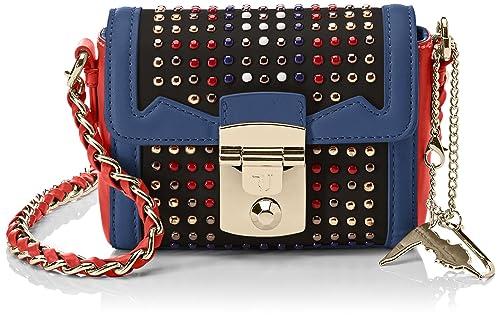 Trussardi Jeans Saint Tropez Ecoleather Studs Mini Bag 64cadb26d393f