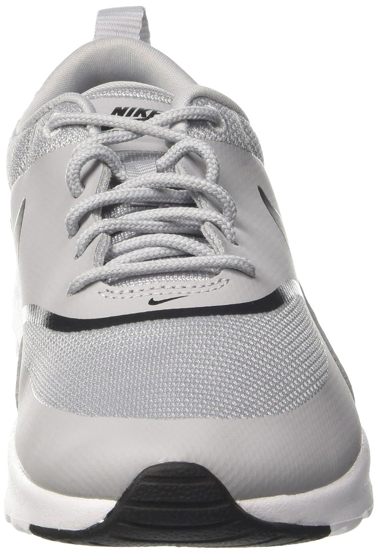 NIKE Women's Air Max Thea Low-Top B(M) Sneakers, Black B079V1YYPV 8 B(M) Low-Top US|Wolf Grey/Black f3199d