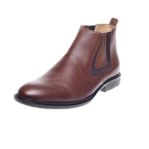 Shoetherapy Sapatoterapia - Botines Chelsea de Piel Hombre: Amazon.es: Zapatos y complementos