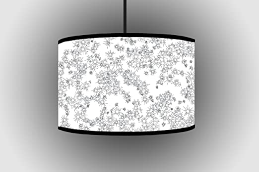 30CM White Black Design Lampshade Ceiling Lampshade Bedroom Lampshade  Living Room Lamp Shade Part 41