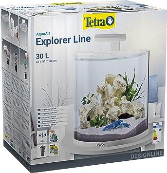 Juego completo para acuario Tetra AquaArt Explorer Line, cangrejo: Amazon.es: Productos para mascotas