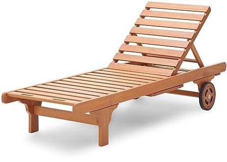Strathwood Basics Hardwood Chaise Lounge