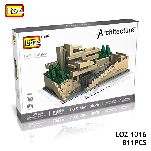 Amazon Loz Architecture 1016 Box Set Fallingwater Pennsylvania