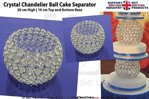 Kristalle Für Kronleuchter ~ Kronleuchter kristall rund ball kuchen trenner echten kristallen