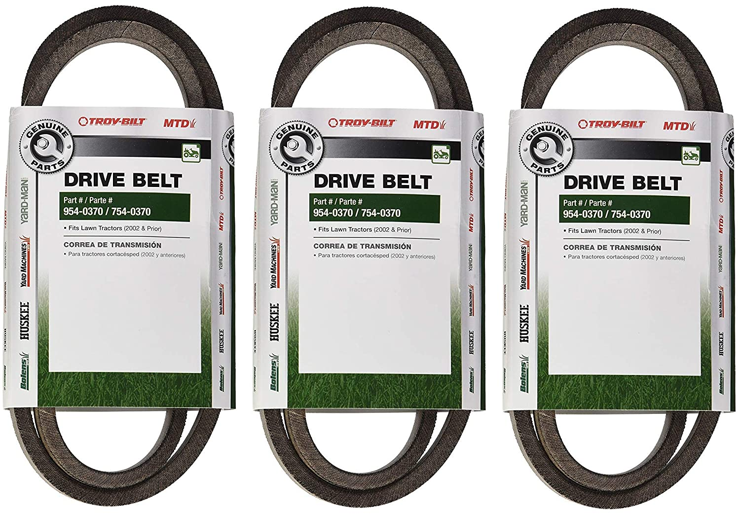 MTD Genuine Parts 36/38/42-Inch Drive Belt 2002 and Prior