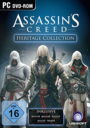 Assassins Creed Heritage Collection Pc Amazonde Games