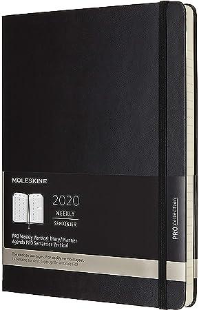 Amazon.com: Moleskine 2020 Professional Weekly Vertical ...