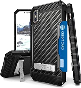 beyondcell hTri Shield For Apple iPhone 8 plus &i Phone 7 plus Carbon Fiber